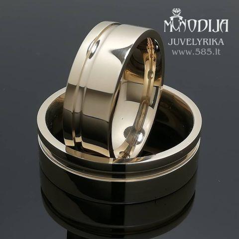 Vestuviniai žiedai. Svoris 17g