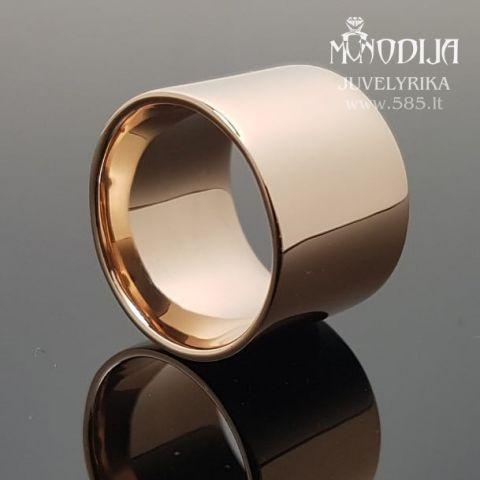 Modernus žiedas. Svoris 18g
