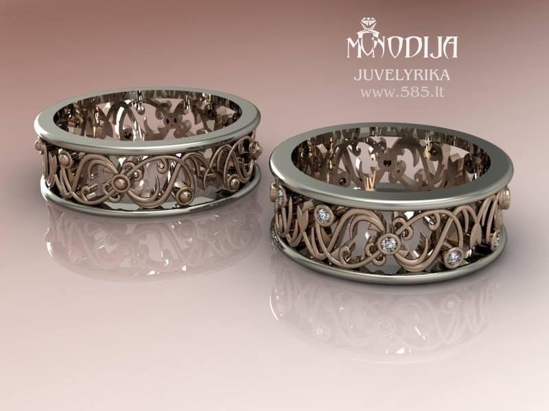 Vestuviniai žiedai - www.585.lt