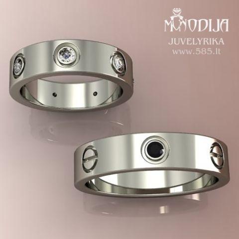 Vestuvinių žiedų vizualizacija